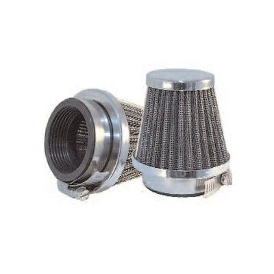 CHROME EMGO MOTORCYCLE AIR FILTER POD 60mm