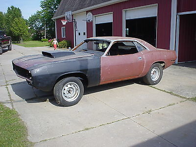 1970 Plymouth Barracuda  1970 cuda