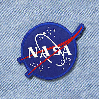 DIY NASA Universe Embroidered Sew On Iron On Patch Badge Bags Fabric Applique