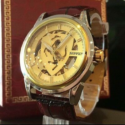 Never Use! Rare thing Ferrari watch automatic winding not for sale gold cool!