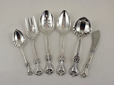 Towle Old Colonial Sterling Silver 6 Piece Serving Set - No Monograms