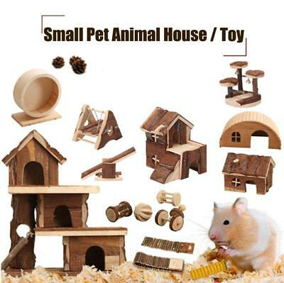Small Pet Animal Toy House Exercise Supplies For Guinea Pigs Hamster Chinchillas