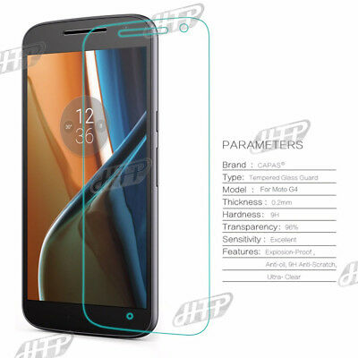 Ultra thin 9H Moto G4 Plus Tempered Glass Film Screen Protector Cover AU