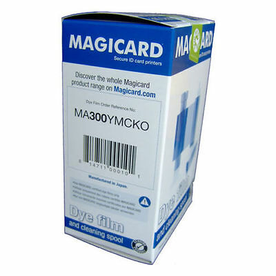 MA300YMCKO MAGICARD COLOR RIBBON fit with RIO ENDURO PRONTO Printer