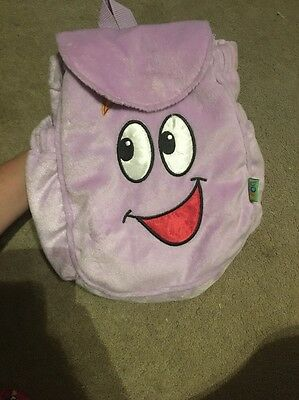 Dora The Explorer 2002 Backpack With Map