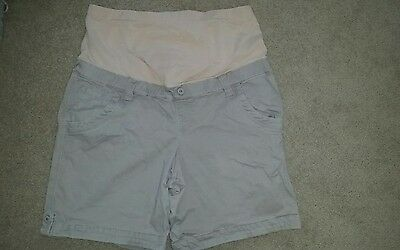 jeans west maternity sz 16 shorts