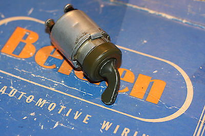 Vintage Ignition Switch WWII Military Jeep,Ford,Willys,Dodge, Genuine Delco Remy