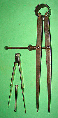 Antique & Modern Compass / Dividers / Calipers  Carpentry Cartography Map Making