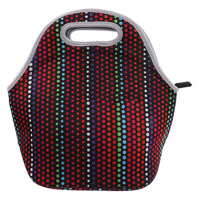 Waterproof Cooler Insulated Lunch Box Bag Picnic Neoprene Tote Storage Pouch W2