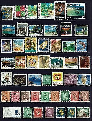 New Zealand...collection  Of Various Stamps