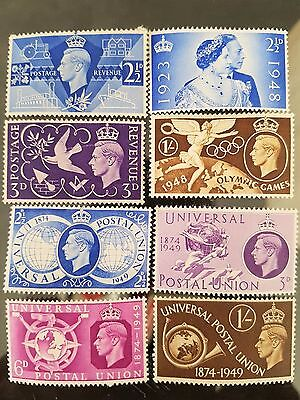 Great Britain GB 1940s 1950s Mint Stamps Collection Lot