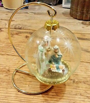House of Lloyd Christmas Around the World Three Kings Ornament with Stand & Box
