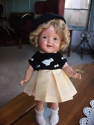 """Shirley Temple Duck Outfit for 11"""" Composition Doll"""