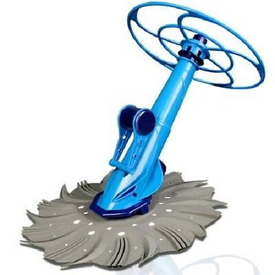 NEW In-Ground Above-Ground Anti-Stick Design Finned Disc Automatic Pool Cleaner
