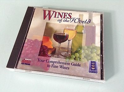 Wines Of The World CD-ROM - Your Comprehensive Guide To Fine Wines