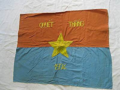 FLAG - VC Vietcong NVA NLF North VN Army Flag Victory in 1974 Year, VIET CONG