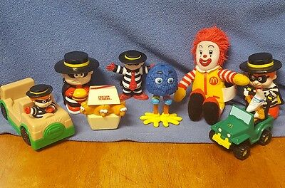 mcdonalds restaurant collectible toys including little people