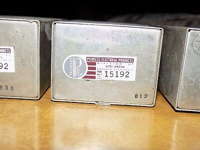 Peerless / Altec Lansing Model 15192 vintage Socket Type Line audio transformer