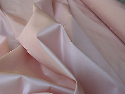 Scalamandre Sotto Voce 100% Silk Taffeta Pale Baby Pink Bty
