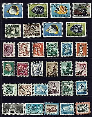 Poland  Various Stamps...collection...