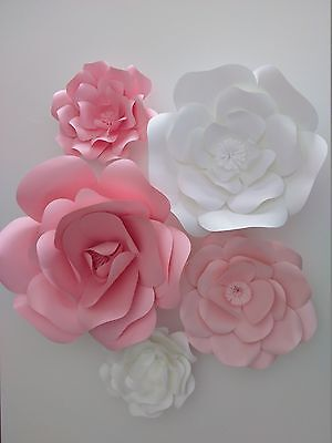 Large/Giant Paper Wall  Flowers Event Home Nursery Decor