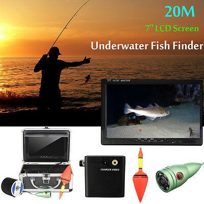 F002MD 7'' LCD 20M Underwater Video Camera Fishing Fish Finder Colour TFT Screen
