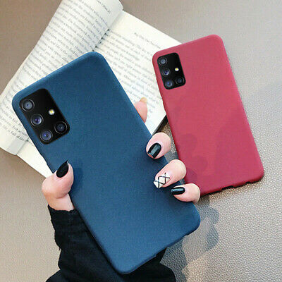 Ultra-thin Matte Soft Silicone Case Slim TPU Rubber Plush Cover For Smart Phone