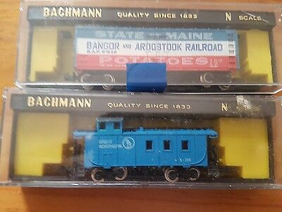 N scale model trains
