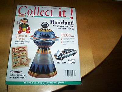 COLLECT IT magazine no 23 comics moorland togger beanies agatha christie