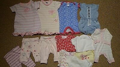 Bundle Girls Newborn And 0-3 Clothes Next, M&S,