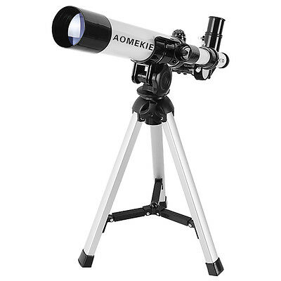 20-32X Astronomical Refractor Telescope Monocular With Tripod For Kids White