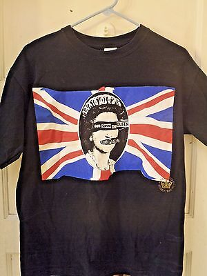 Sex Pistols T Shirt God Save The Queen Punk Rock Medium Sid Vicious Jubilee