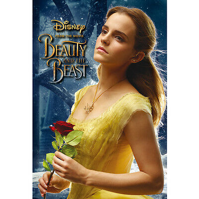 "Disney Beauty and the Beast ""Beauty Bell"" 3D Lenticular Card / 3D Postcard"