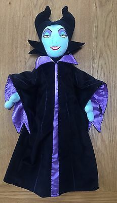 """Disney Store Large 22"""" MALEFICENT Doll Soft Plush Toy - In Excellent Condition"""