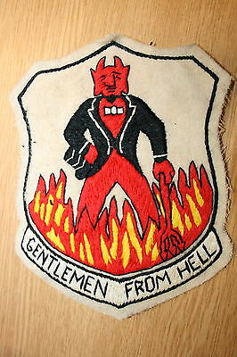 487Th Bomb Group 8Th Aaf Squadron A2 Jacket Patch Gentlemen From Hell