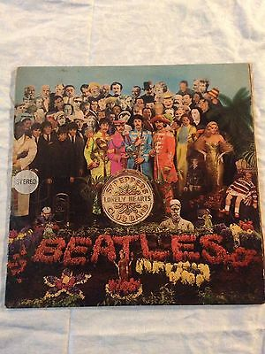 LP The Beatles Sgt Pepper Lonely Hearts Club Band Originale