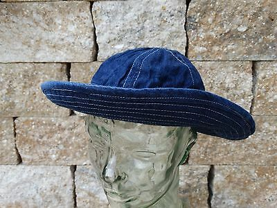 Denim Daisy Mae Hat Fatigue Cap Lutece MFG US Army Navy Heritage Rugged Wear