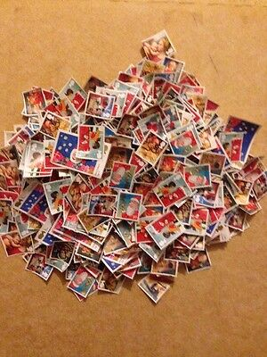 500 1st Class Stamps Unfranked Off Paper No Gum