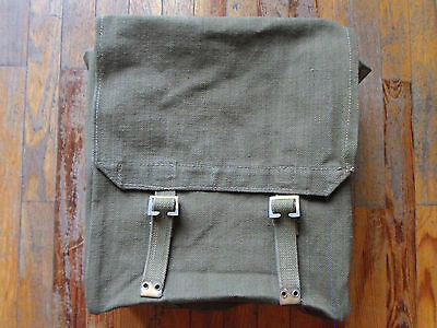REAL british army jungle haversack pack messenger bag backpack pat 37 DAK WW2 41