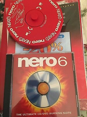 Nero 6 - CD/DVD Burning Suite PC For Win XP/2000