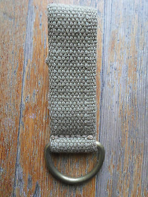 british 8th army utility pistol belt d ring hanger pattern pat 37 web DAK ww2