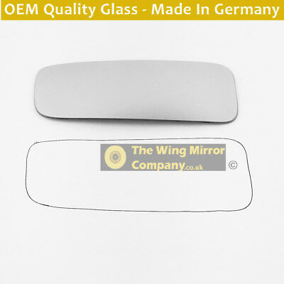 Left Side Covex Wing Mirror Glass For Mercedes Commercial Sprinter Fits To Reg 0