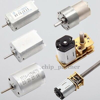 DC 1.5V-12V Motor High Speed Torque Gear Box Reducer Turbine Gear Motor