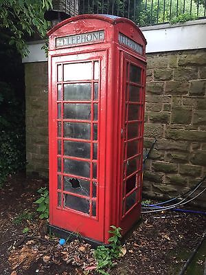 Red K6 Telephone Box