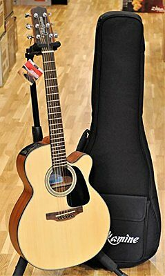 Takamine GX18CENS 3/4 Size Travel Acoustic-Electric Guitar and Gig Bag