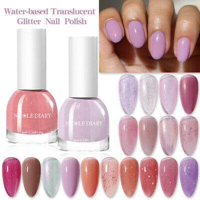 10ml Platinum Starry UV Gel Soak Off Manicure UV Nail Lamp Polish Born Pretty
