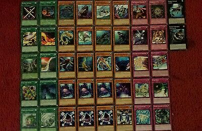 Yu-Gi-Oh Shark Deck - 40 cards complete BONUS 5 cards