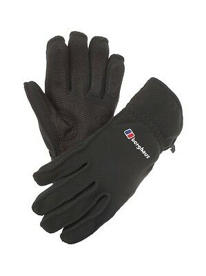 Berghaus Windygripper II Black Gloves XL Gore Wind stopper Windy