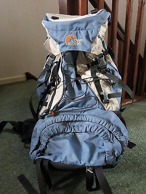 Lowe Alpine Merak ND 65 + 15 (80 litre) blue women's hiking rucksack backpack