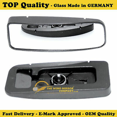 Left Side Covex Wing Mirror Glass For Mercedes Commercial Sprinter Clip On Non H